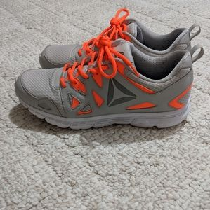 Reebok Men's Run Supreme - Grey and Orange